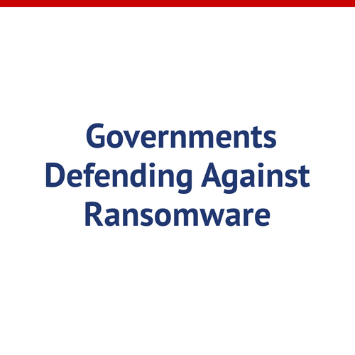 Municipal Governments Are Targets But Can Defend Against Ransomware